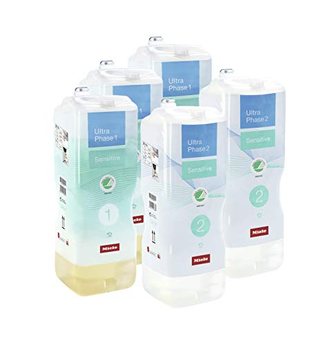 Miele UltraPhase 1 und 2 Sensitive Halbjahresvorrat Miele Sensitive Waschmittel