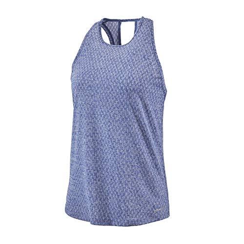 Patagonia W's Ridge Flow Tank T-Shirt à Manches Courtes pour Femme L Bleu (Cobalt Blue)