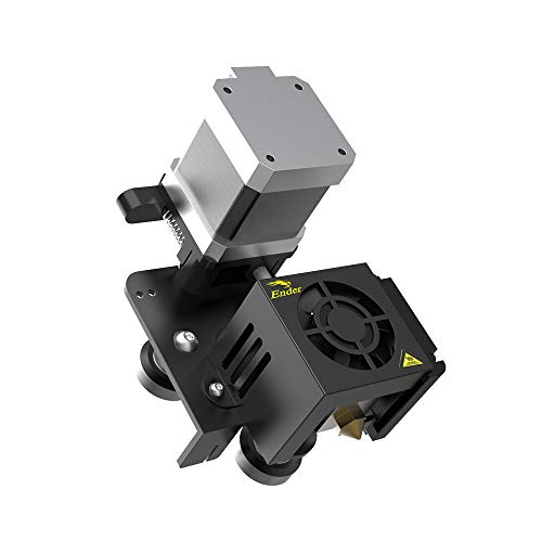 Creality Upgraded Direct Extruder Kit for Ender 3, Ender 3 Pro, Ender 3 V2, Comes with 42-40 Stepper Motor, 1.75mm Direct Drive Extruder, Fan and Cables Support Flexible Filament