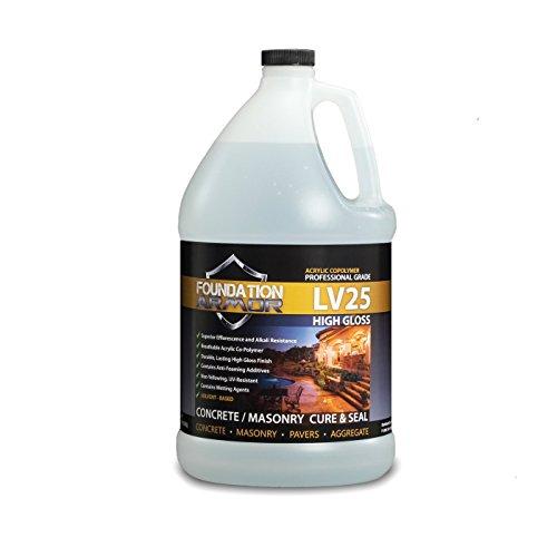 Armor LV25 High Gloss Concrete Cure and Seal - 1 Gallon
