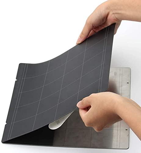 Good Stability Printer Accessories 3D Printer for B-uildplate Sticker Sheet Black Sheet Heat Bed Platform for P-rusa I3 Mk3 Mk2.5 Heat Bed 3D Printer Parts Replace Damaged