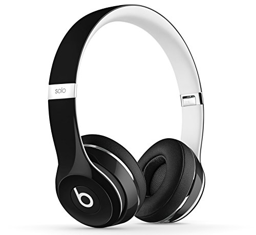 Beats Solo2 On-Ear Headphones Luxe Edition - Black (Wired)
