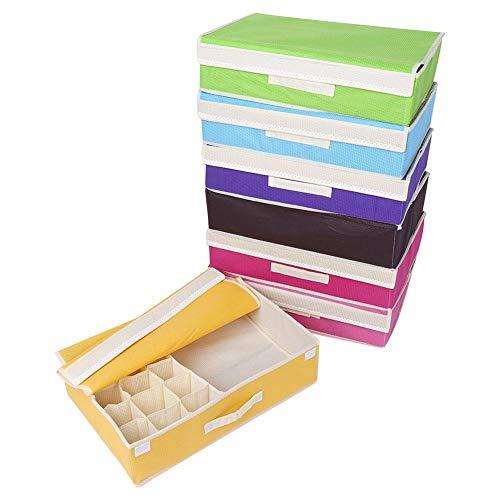 DEWIN ondergoed bewaren – BH-opslag opvouwbare ladekast organizer opbergdoos container verdeler voor ondergoed – beha sokken 1st