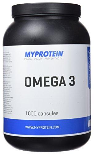 Myprotein - Omega 3-1000 mg 18% EPA / 12% DHA - 1000 Caps, 1 kg