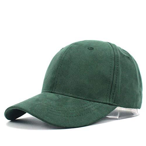 AJSJ Women Casual Baseball Cap Dad Decap Green Lady OVO Drake Hats Suede Cap Trucker Cap Men Bones 2018,A