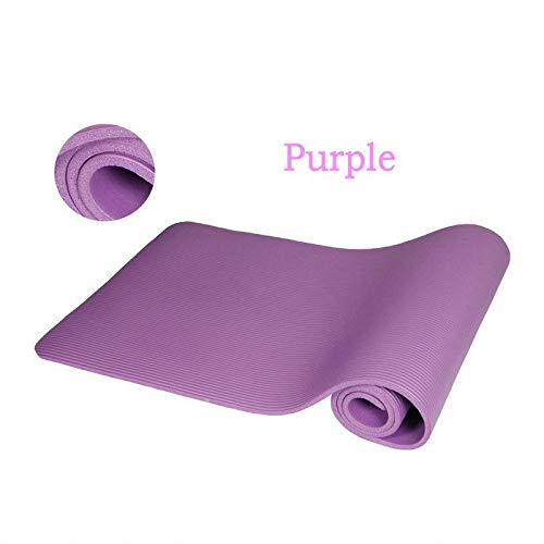XIAOXINGXING 10mm Yoga Matte Pad Weiche rutschfeste Übungsmatte Home Gym Fitness Pilates...