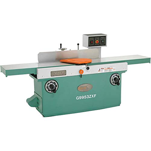 Grizzly Industrial G9953ZXF – 16″ x 99″ 3-Phase Z Series Jointer w/Spiral Cutterhead