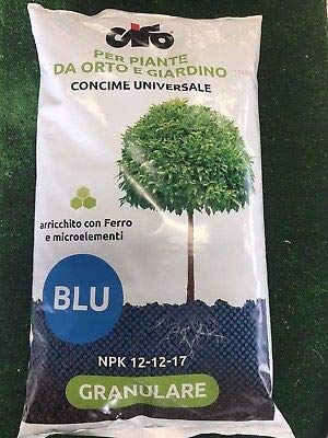 CIFO CONCIME GRANULARE Universale Blu NPK 12-12-17+Fe 5 kg.