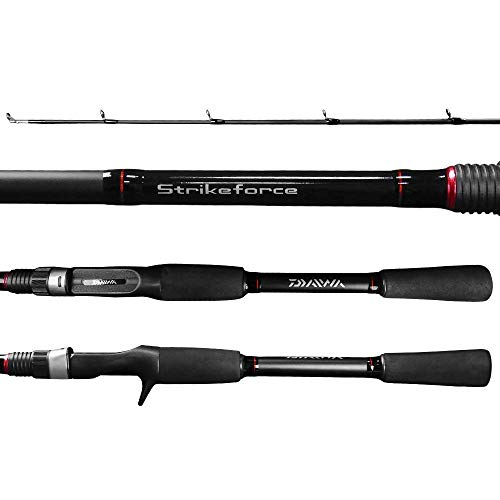 Vara Pesca Carretilha Daiwa Strikeforce SF602MRB 1,83m 8-17 Lbs 2 Partes