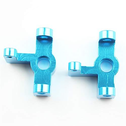 elegantstunning WL-Toys 144001 1/14 RC Car Spare Parts 144001-1251 Upgrade Metal Front Wheel Seat
