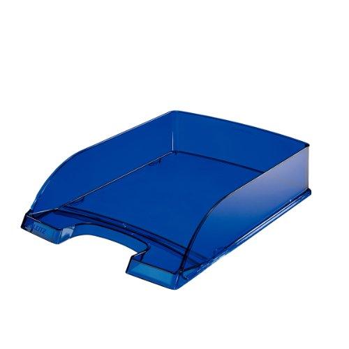 LEITZ PLUS STANDARD vaschetta portacorrispondenza - Blu Scuro traslucido - 52260039
