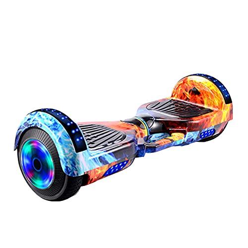 N C Scooter de Balance eléctrico, hoderboard para niños, con diseño portátil, para niños, Doce años, Adultos, Adultos, neumáticos de Goma sólidos con Dos Ruedas al Aire Libre,