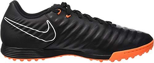 Nike Herren Legendx 7 Academy Tf Fußballschuhe, Schwarz (Noir/Noir/Blanc/orange Total 080), 42 EU