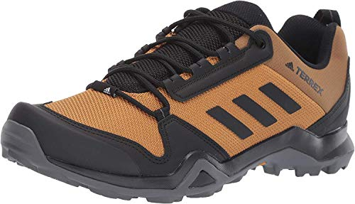 adidas outdoor Men's Terrex AX3 Hiking Boot, Mesa/Black/Black, 13 M US
