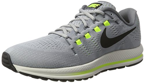 Nike Air Zoom Vomero 12 Mens Running Trainers 863762 Sneakers Shoes (UK 6.5 US 7.5 EU 40.5, Wolf Grey Black Cool Grey 002)