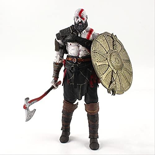 Geyang 20cm God of War Kratos PVC Figura De Acción De Colección Modelo De Juguete para Niños