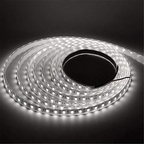 DQM Led-lichtset, dimbaar, FPC + siliconenhoes, kastverlichting, 60 LED's, voor thuis, keuken, tv, party, kast, bureau, plank,