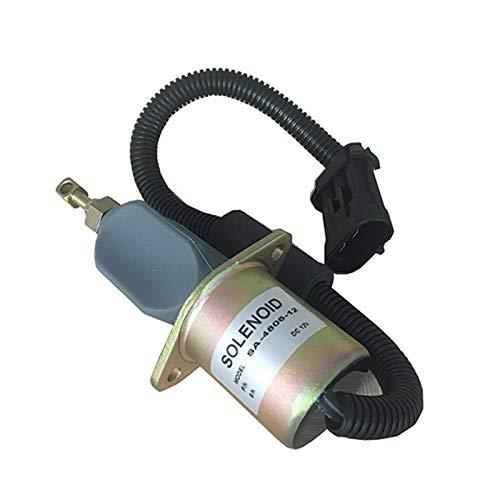 SINOCMP Electrovanne d'arrêt SA-4805 SA4805 12 V pour pièces de moteur KUBOTA