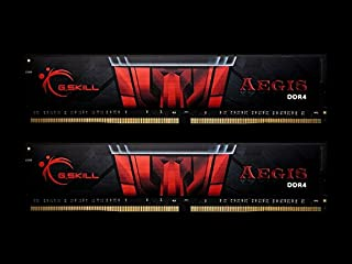G.Skill DDR4メモリ DDR4-2666 32GBKit(16GB×2枚組)国内正規品 OVERCLOCK WORKS購入限定特典ステッカー付き F4-2666C19D-32GIS