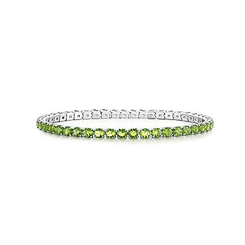 AKKi jewelry Damen Armband Versilbert Strass Armreif Armkette Schmale Dünne Glitzer Kinder Bänder 3mm Wert #11