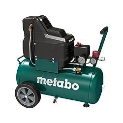 Metabo Compressor Basic 250-24 W OF 1,5kW, 8 bar, 24l, for single-phase alternating current