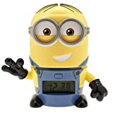 Lego - Réveil veilleuse Dave de Moi, Moche et Méchant 3 BulbBotz 2021241 avec son caractéristique pour enfant