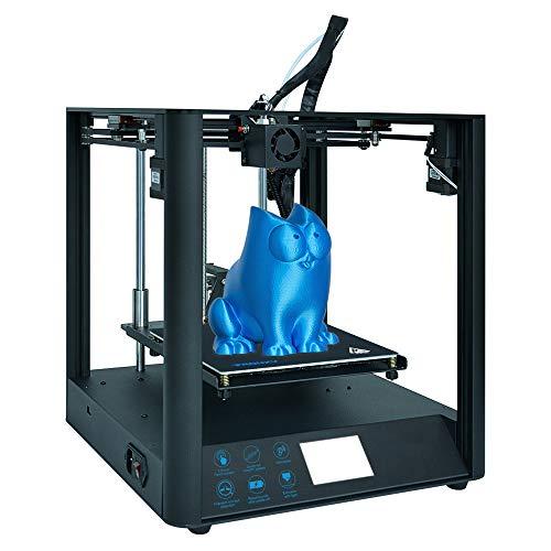Kit De Bricolaje para Impresora 3D con Alta PrecisióN, FáCil De Montar, Ultra Silencioso, Reanudar La ImpresióN, Imprimir Filamentos Flexibles, Arquitectura/Medicina/Industria/Hogar/PelíCula