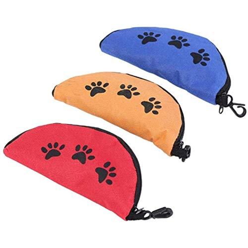 Bol de Viaje de Silicona Plegable, para Perros, portátil, Plegable, para Mascotas, Gatos, Comida y Agua, Color