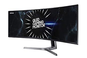 Samsung Double QHD CRG9 Series 49-Inch Curved Gaming Monitor  LC49RG90SSNXZA  Black  Renewed