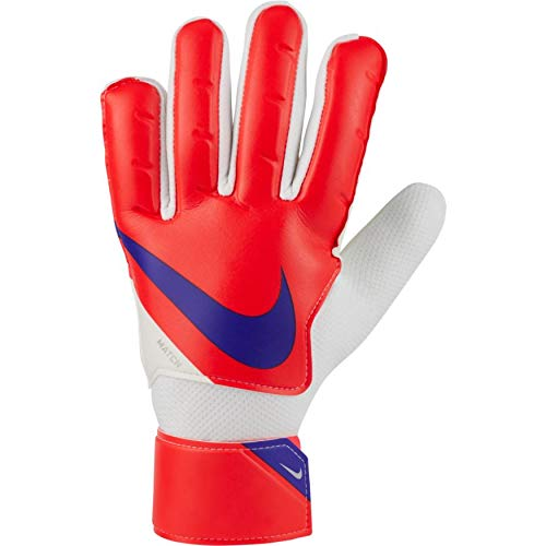 Nike Guantes de Portero NK GK Match FA20, Bright Crimson/Indigo Burst, CQ7799-635, 11
