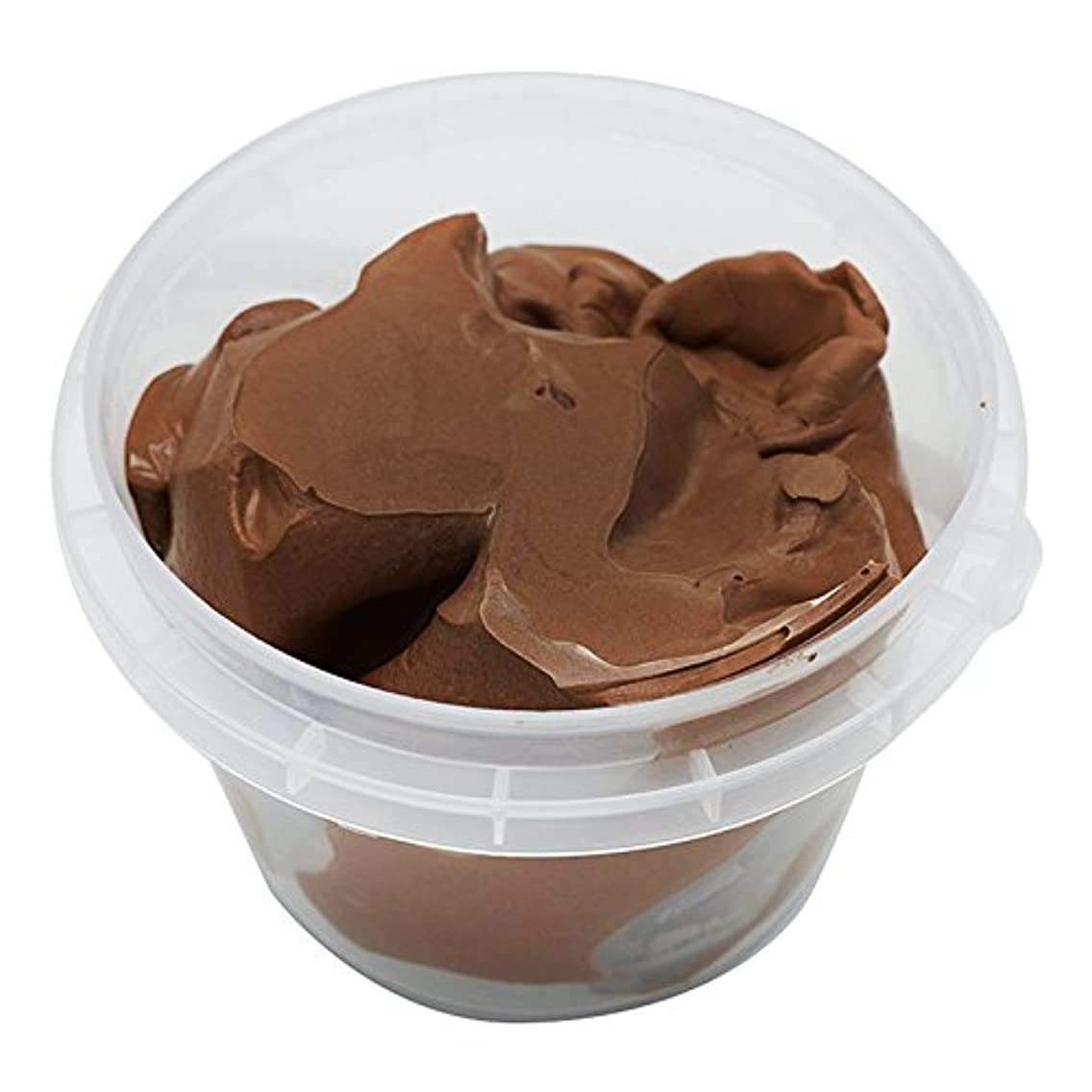OVI Non Toxin Air Dry Creative Modeling Clay Bucket with Assorted Colors Ultra Light Molding Magic Clay Dark Brown mgaohpl99