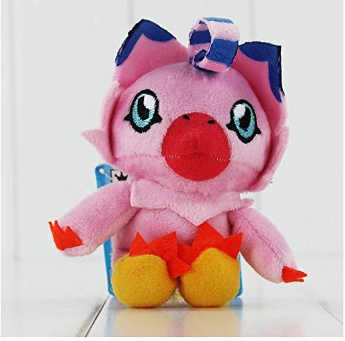 N/O Digimon Plüsch Patamon Agumon Palmon Piyomon Gomamon Gabumon Tentomon Plüschtier Anhänger Anhänger Schlüsselbund Spielzeug 10Cm