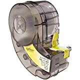 Brady XSL-11-427, 60089 0.75' x 0.5' Self-Laminating Vinyl Wire & Cable Label, Black, Pack of 4 Cartridges of 450 Labels