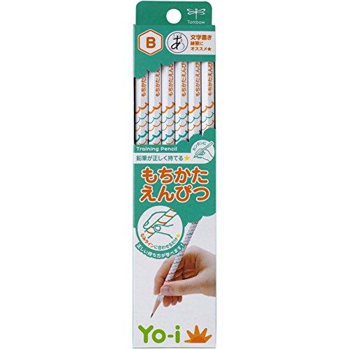 トンボ鉛筆 鉛筆 Yo-i もちかた B 六角軸 右手左手兼用 KE-KY02-B 1ダース