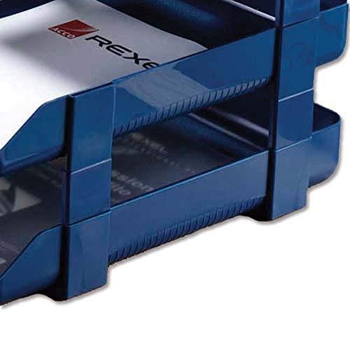 Rexel 25225 - Accesorio de bandeja de escritorio, azul