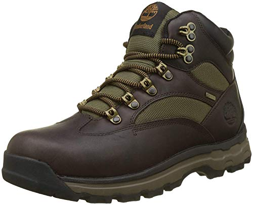 Timberland Herren Chocorua Trail Goretex Waterproof Chukka Boots, Braun (Dark Brown/Green A66), 44 EU