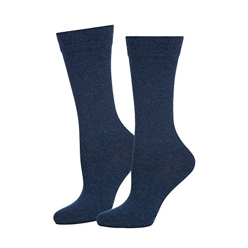 Safersox Business Socken Dunkelblau meliert, 43-46