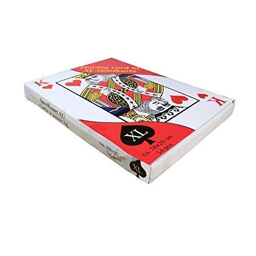 ClubKing Jeu de cartes Format A4
