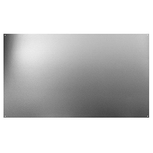 "Broan-NuTone SP3604 Backsplash Range Hood Wall Shield for Kitchen, Stainless Steel, 24"" x 36"""