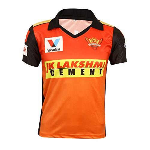 KD Cricket IPL Jersey Supporter Jersey T-Shirt 2020/21 MI, CSK, RCB, KKR, RR, KXIP, SRH und DC (SRH, 40)
