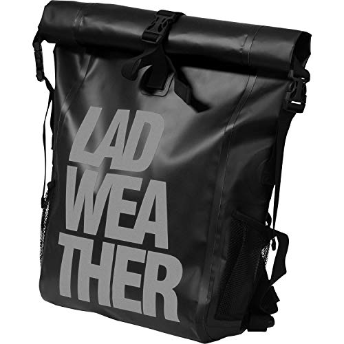 LAD WEATHER Waterproof Bag, Fully Waterproof, 5.6 gal (25 L), Men's Sports Bag