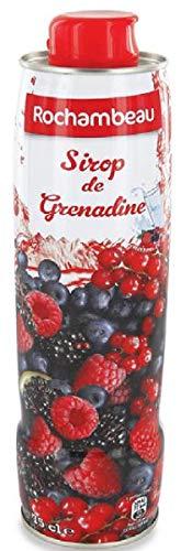 Sirope concentrado de Granadina Rochambeau (4 unidades de 750ml)