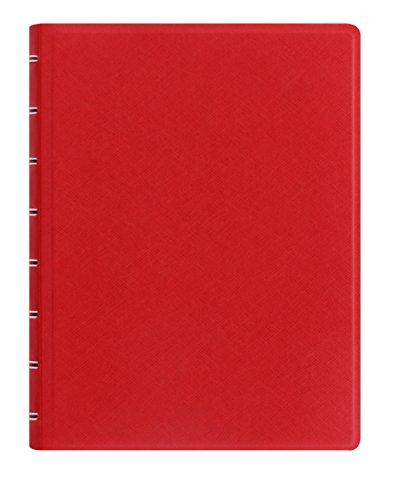 Agenda A5 cuaderno recargable Saffiano Poppy