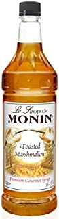 Monin Toasted Marshmallow Syrup, 33.8-Ounce Plastic Bottle (1 Liter)