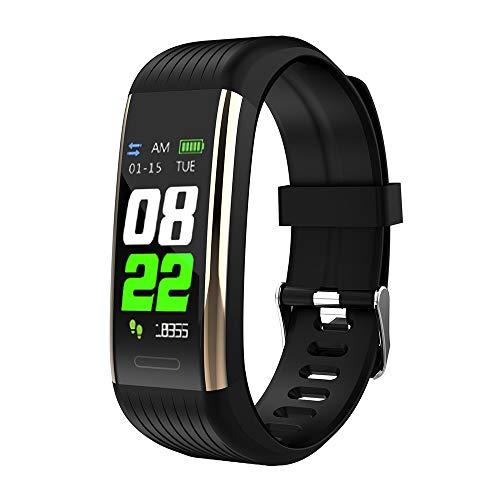 Explopur Intelligentes Sport-Armband - R1 Smart Sport Armbanduhr Fitness Tracker Timer Intelligentes Trainingsarmband Farbdisplay Herzfrequenzmessung Schlafüberwachung Fotoaufnahme Multi Sport Modus I