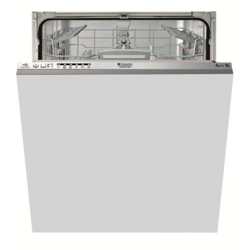 Hotpoint ELTB 6M124 EU Fully built-in 14place settings A++ dishwasher - Dishwashers (Fully built-in, Bianco,Not applicable, Full size (60 cm), Acciaio inossidabile, Buttons, LED)