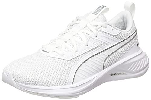 PUMA Scorch Runner, Scarpe da Corsa Unisex-Adulto, Colore Bianco, 41 EU