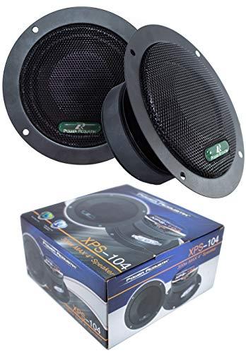 "2X Sealed Back 4"" 600W Mid Range Car Audio Speaker XPS-104"