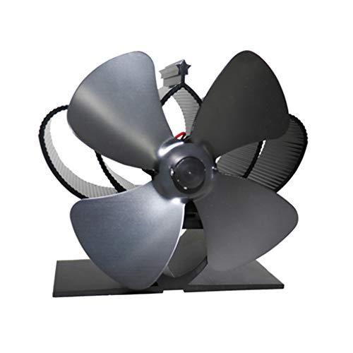 Stromloser Ventilator - Kamin Ventilator stromlos - Ventilator für Holzöfen - Ofen Ventilator für optimale Verteilung der Luft von Yintiod