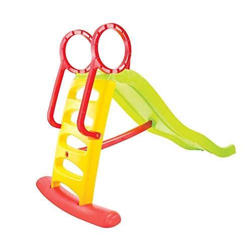 Mochtoys Kinderrutsche und Wasserrutsche 11557 Rutschlänge 205 cm bis 50 kg, Farbe:grün